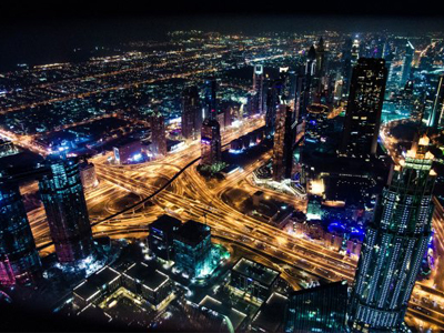 United Arab Emirates cityscape