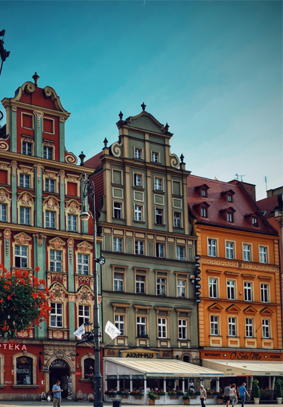 Buildings in Poland