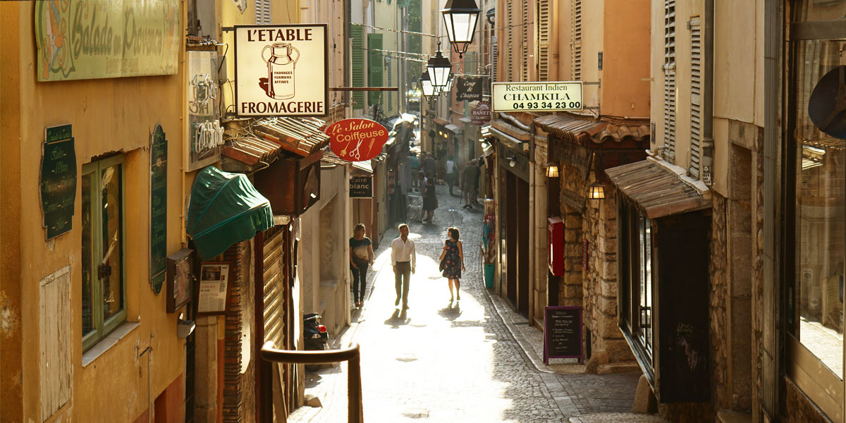 A street in France